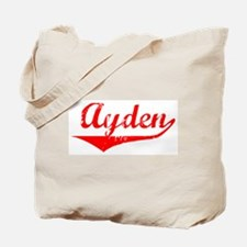 Ayden Vintage (Red) Tote Bag