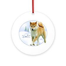 Shiba Noel Ornament (Round)