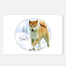 Shiba Noel Postcards (Package of 8)