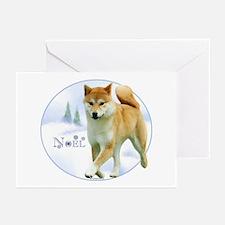 Shiba Noel Greeting Cards (Pk of 10)