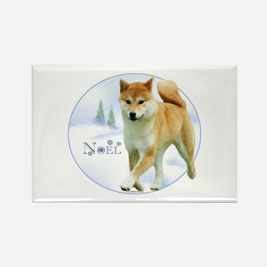 Shiba Noel Rectangle Magnet