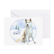 Husky Noel Greeting Cards (Pk of 20)
