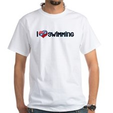 i heart swimming Shirt