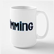 i heart swimming Large Mug