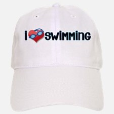 i heart swimming Baseball Baseball Cap