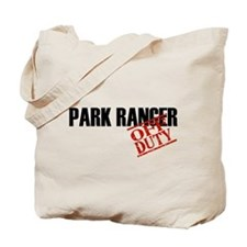 Off Duty Park Ranger Tote Bag