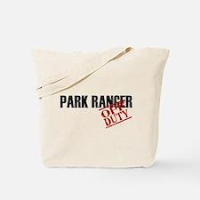 Off Duty Park Ranger Tote Bag