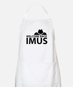 Welcome Back Imus BBQ Apron