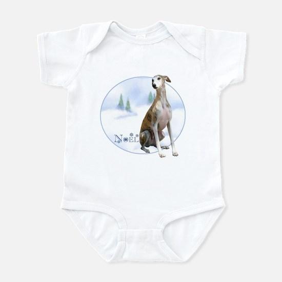 Whippet Noel Infant Bodysuit