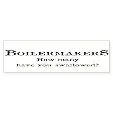 Boilermakers Fun Stuff Bumper Bumper Sticker