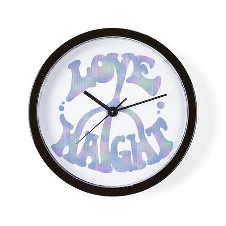 L P H Wall Clock