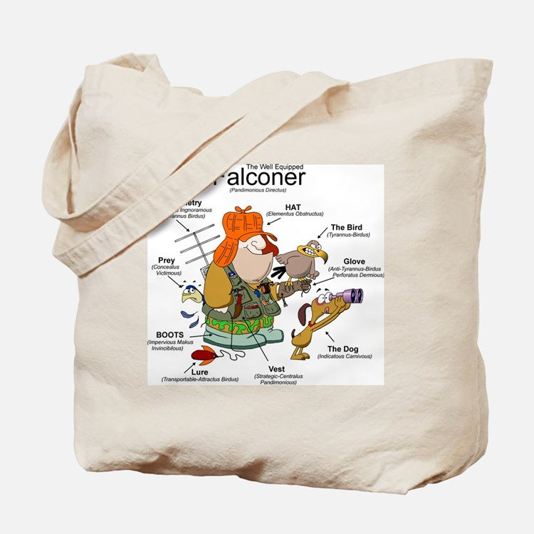 The Falconer Tote Bag