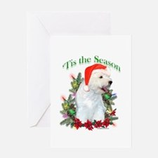 Westie Noel Greeting Card