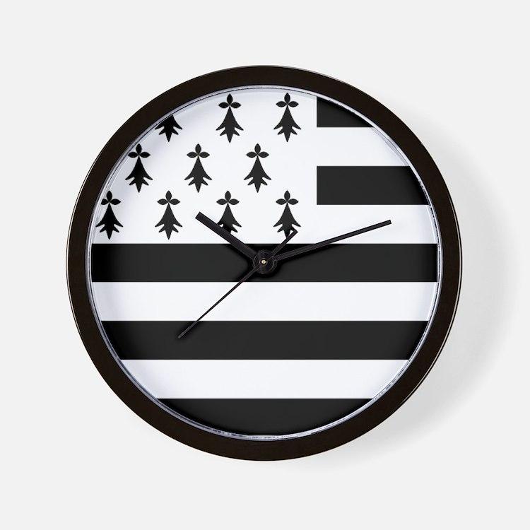 Flag Breton Wall Clock