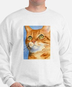 Red / Orange Tabby Sweatshirt