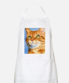 Red / Orange Tabby BBQ Apron