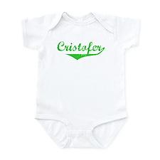 Cristofer Vintage (Green) Infant Bodysuit