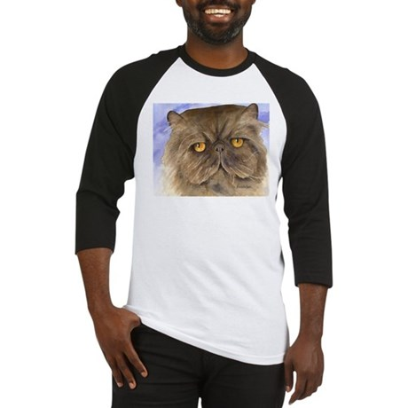 Persian Cat Baseball Jersey