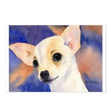 Chihuahua 5 Postcards (Package of 8)