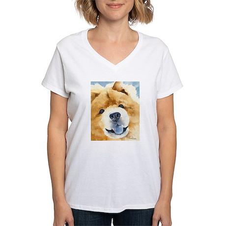 Chow Chow 2 Women's V-Neck T-Shirt
