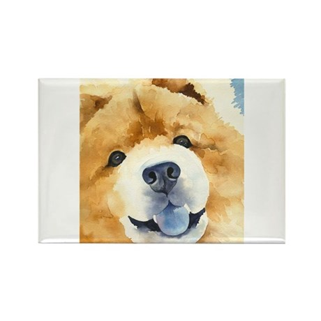 Chow Chow 2 Rectangle Magnet