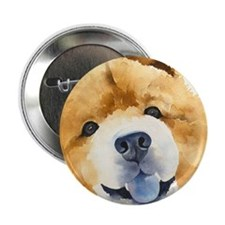 "Chow Chow 2 2.25"" Button"