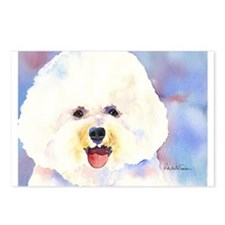 Bichon Frise 2 Postcards (Package of 8)