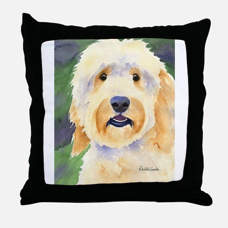 Goldendoodle Throw Pillow