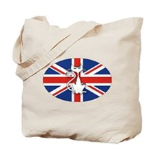 Mod Evil Scooter Kitty Tote Bag