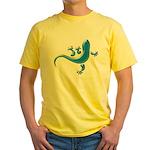 Cyan Gecko Yellow T-Shirt