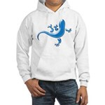 Cyan Gecko Hooded Sweatshirt