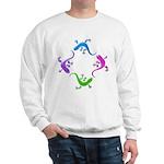 4 Geckos 4 Sweatshirt