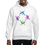 4 Geckos 4 Hooded Sweatshirt