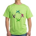 4 Geckos 4 Green T-Shirt