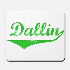 Dallin Vintage (Green) Mousepad