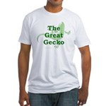 Great Gecko Fitted T-Shirt