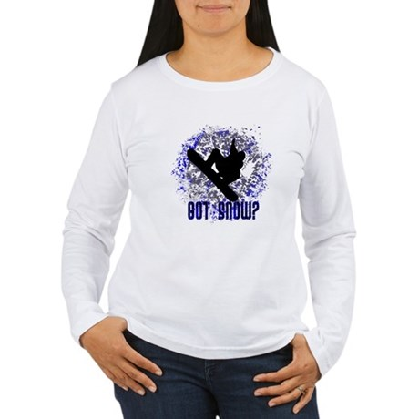 GOT SNOW? Women's Long Sleeve T-Shirt