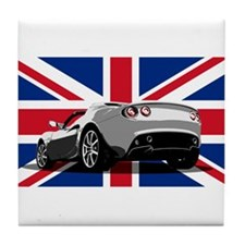 """Elise UK"" Tile Coaster"