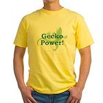 Gecko Power! Yellow T-Shirt