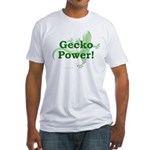 Gecko Power! Fitted T-Shirt