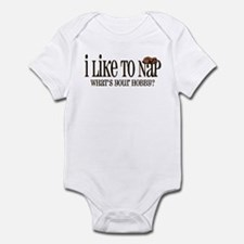 I Like To Nap Dog Infant Bodysuit