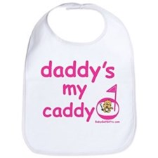 Unique Daddy's caddy Bib