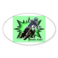 """""""Bubba Rolls"""" Oval Decal"""