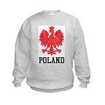 Vintage Poland Kids Sweatshirt