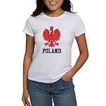 Vintage Poland Women's T-Shirt