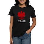 Vintage Poland Women's Dark T-Shirt
