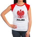 Vintage Poland Women's Cap Sleeve T-Shirt