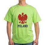 Vintage Poland Green T-Shirt