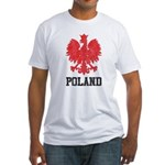 Vintage Poland Fitted T-Shirt
