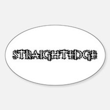 Straightedge Decal